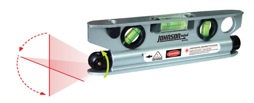 Johnson Level Magnetic Torpedo Laser Level 40 6164
