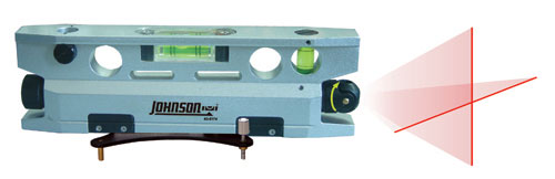 Johnson Level Magnetic Torpedo Laser Level 40-6174