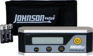 Johnson Level Electronic Level Inclinometer 40-6060