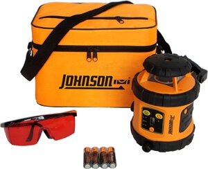 Johnson Level Self-Leveling Rotary Laser Level 40-6515