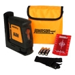 Johnson Level Self-Leveling Ultra Bright Cross-Line Laser Level 40-6625 ES2616