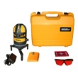 Johnson Level Self-Leveling Quad Line Laser Level with Pulse 40-6662 ES2685