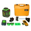 Johnson Level Self-Leveling Rotary Laser Level with GreenBrite Technology 40-6543 ES2812