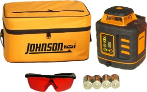Johnson Level Self-Leveling Rotary Laser Level 40-6527