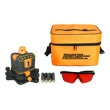 Johnson Level Manual-Leveling Rotary Laser Level 40-6502 ES2815