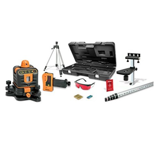 Johnson Level Manual-Leveling Rotary Laser Level System 40-6512