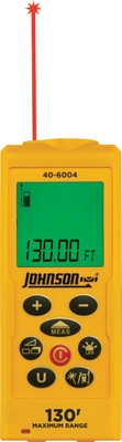 Johnson Level Laser Distance Measuring Tool 40-6004 ES4138