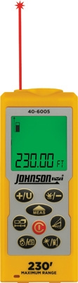 Johnson Level Laser Distance Measuring Tool 40-6005 ES4139