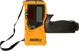 Johnson Level Self-Leveling Cross Line Laser Level with Three Vertical Lines Kit 40-6604