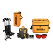 Johnson Level Manual-Leveling Rotary Laser Level Kit 40-6507