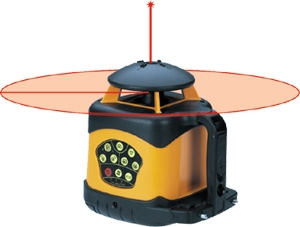 Electronic Self Leveling Horizontal & Vertical Rotary Laser Level System 40-6521
