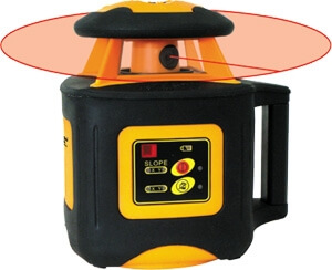 Johnson Level Electronic Self Leveling Horizontal Rotary Laser Level System 40-6536