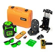 Johnson Level Electronic Self Leveling Rotary Laser Level with GreenBrite Technology Kit 40-6547