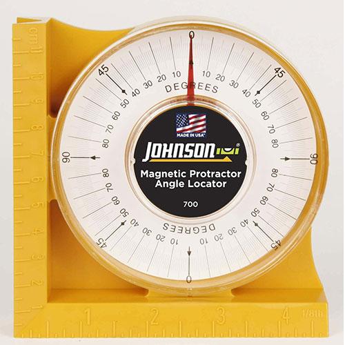 Johnson Level Magnetic Angle Locator 700 Engineersupply