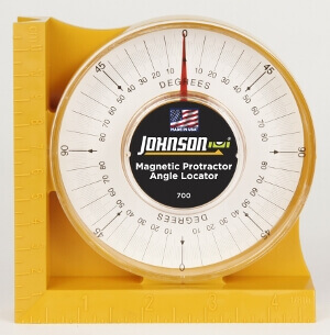 Johnson Level Magnetic Angle Locator 700