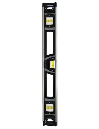 "Johnson Level 24"" Big J Heavy Duty Professional Aluminum Level 1500-2400"