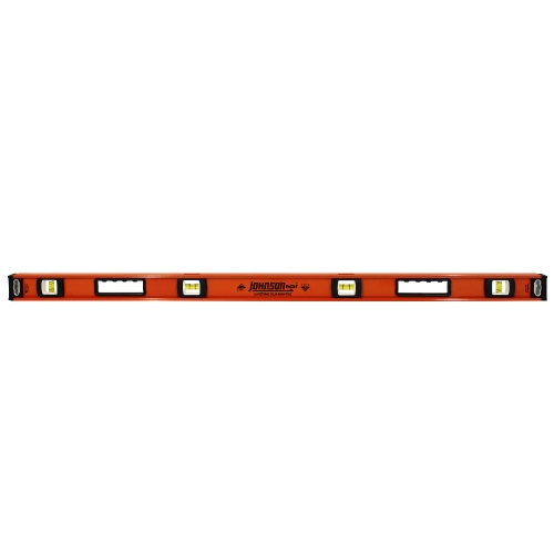 "Johnson Level 48"" Big J Heavy Duty Professional Aluminum Level 1253-4800"