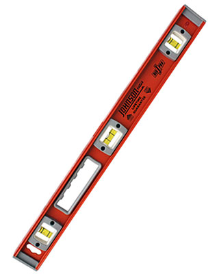 Johnson Level 24 Magnetic Big J Heavy Duty Professional Aluminum Level 1501-2400