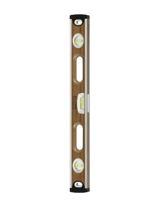 "Johnson Level 24"" Eco-Tech Bamboo Level with Block Vials 1601-2400"