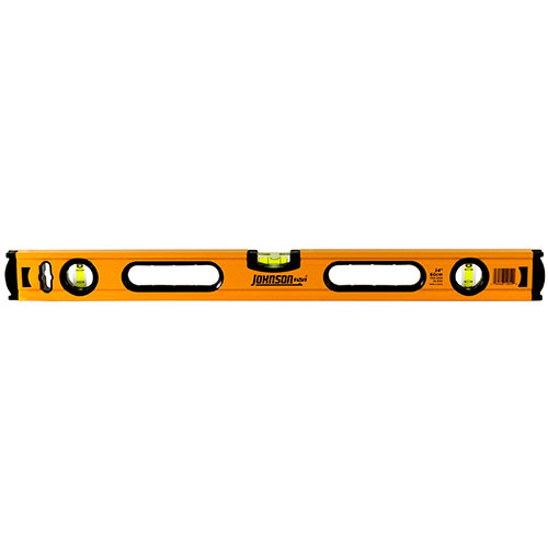 Johnson Level 24 Aluminum Box Beam Level 1735-2400