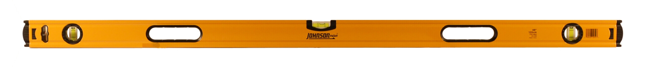 Johnson Level 48 Aluminum Box Beam Level 1735-4800