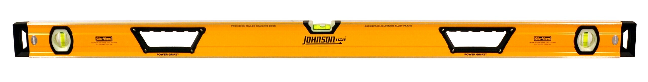 Johnson Level 48 Glo-View Heavy Duty Aluminum Box Level 1717-4800