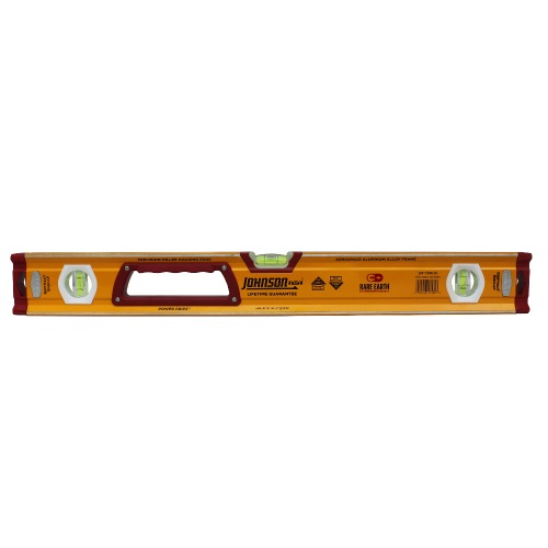 Johnson Level 24 Magnetic Glo-View Heavy Duty Aluminum Box Level 1718-2400