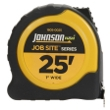 "Johnson Level 25' X 1"" JobSite Power Tape 1805-0025 ES4865"