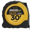 "Johnson Level 30' X 1"" JobSite Power Tape 1805-0030 ES4866"