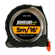 Johnson Level 5m/16' Metric/Inch Big J Magnetic Power Tape 1840-0016 ES4890