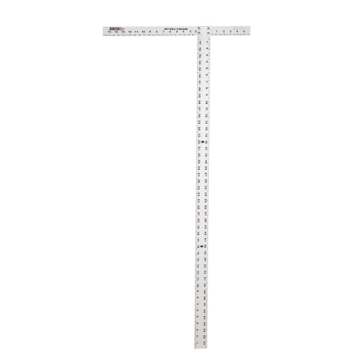 "Johnson Level 48"" Aluminum Drywall T-Square JTS48 ES4985"