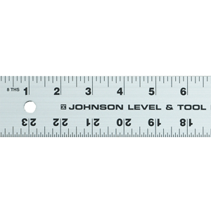 "Johnson Level 96"" Aluminum Straight Edge J96 ES4989"