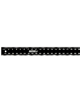 "Johnson Level 48"" Easy-Read Heavy Duty Aluminum Straight Edge J48-K ES4996"