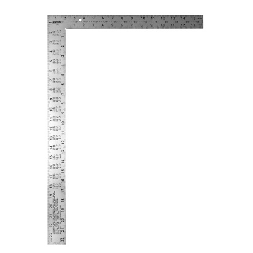 Johnson Level 16 x 24 Professional Easy-Read Steel Framing Square CS9 ES5012
