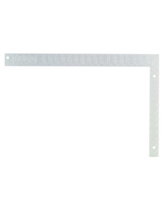 "Johnson Level 16"" x 24"" Aluminum Rafter Square - CS5 ES5015"
