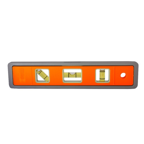 "Johnson Level 9"" Magnetic Glo-View Heavy Duty Aluminum Torpedo Level - 5500M-GLO ES5042"