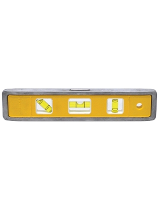 "Johnson Level 9"" Magnetic Aluminum Torpedo Level - 4500M ES5043"