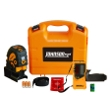 Johnson Level Self-Leveling Combination Cross-Line and 5 Beam Laser Dot Kit with Detector - 40-6687 ES5053