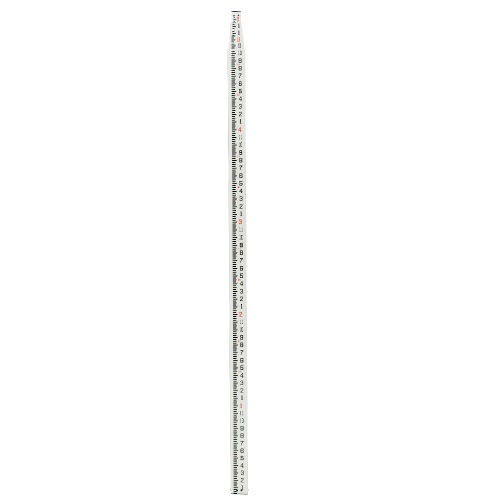 Johnson Level 25-Foot Fiberglass Grade Rod (Feet and Inches) with Carrying Case 40-6325 ES5077