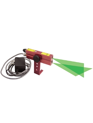 Johnson Level Green Industrial Alignment Cross-Line Laser Level 110V AC - 40-6232 ES5085