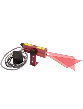 Johnson Level Red Industrial Alignment Cross-Line Laser Level 110V AC - 40-6230 ES5086