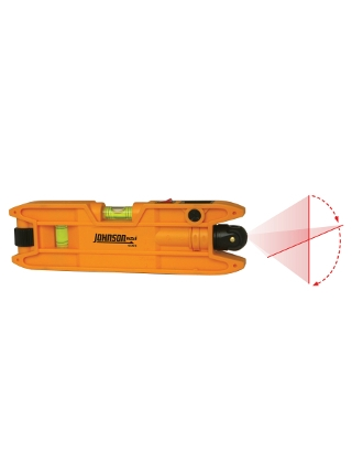 Johnson Level Magnetic Torpedo Laser Level - 40-0915 ES5097