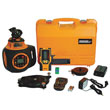 Johnson Level 40-6582 Electronic Self-Leveling Digital Dual Grade Horizontal & Vertical Rotary Laser Kit ES6244