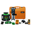 Johnson Level Electronic Self Leveling Rotary Laser Level with GreenBrite Technology Kit 40-6548 ES6402
