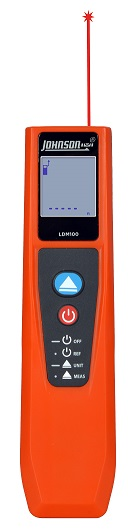 Johnson Level 100 Foot Laser Distance Meter LDM100