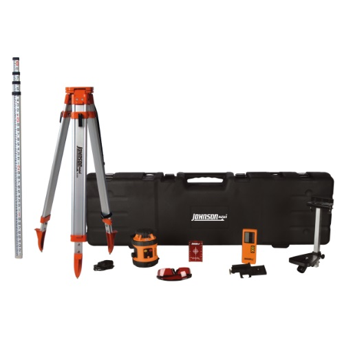 Johnson Level 99-026K - Self-Leveling Rotary Laser System