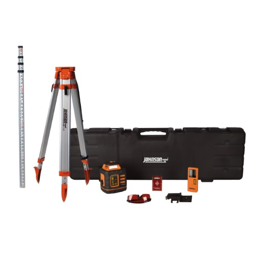 Johnson Level 99-027K - Self-Leveling Rotary Laser System