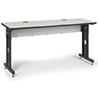"Kendall Howard 72"" x 24"" Advanced Classroom Training Table (3 Colors Available) ES4420"