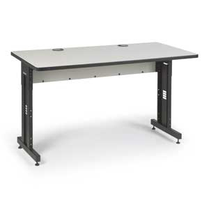 "Kendall Howard 60"" x 30"" Advanced Classroom Training Table"
