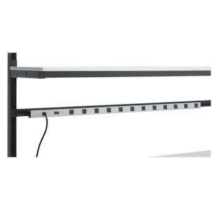 Kendall Howard LAN Station 48-inch Power Strip 1918-3-004-F ES4491